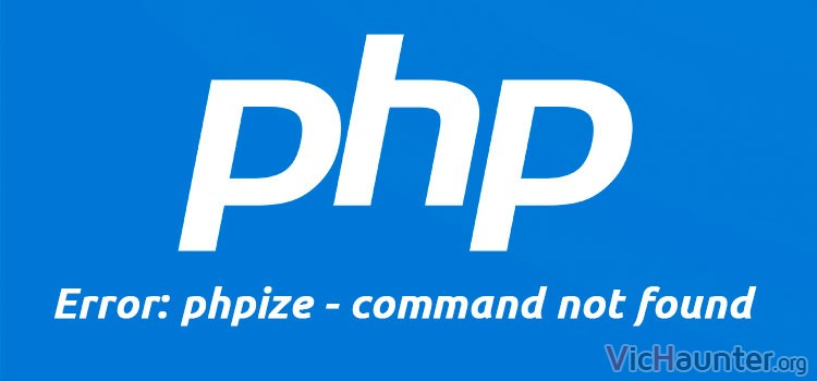 error-phpize-command-not-found