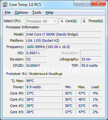Core Temp Windows