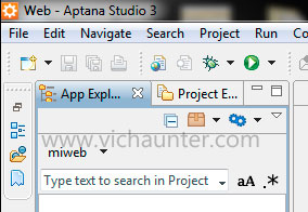 change-position-aptana-windows