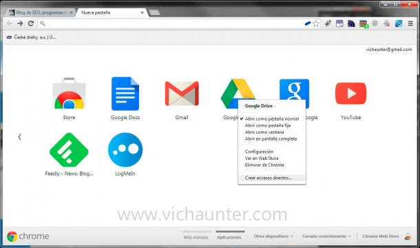 chrome-create-application-desktop