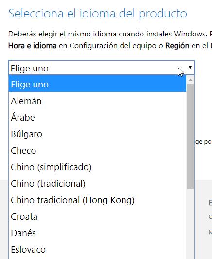 descargar windows 8.1 pro 64 bits gratis en español activado
