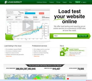 load-impact-website