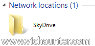 open network drive skydrive configured