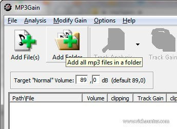 mp3-gain-add-folder