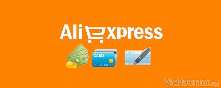 Métodos de pago en AliExpress