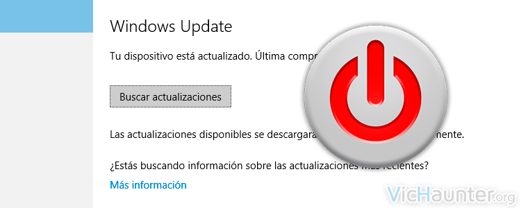 Cómo desactivar actualizaciones de windows 10