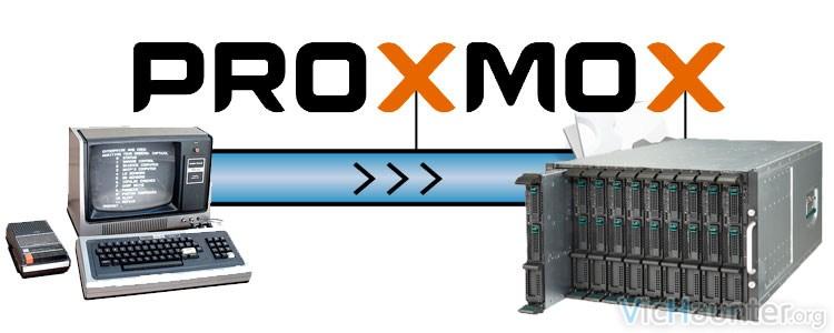Cómo migrar contenedores entre servidores proxmox