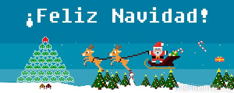 Feliz Navidad 2016 gamer