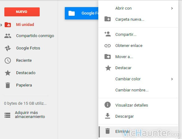 eliminar-carpeta-google-photos-drive