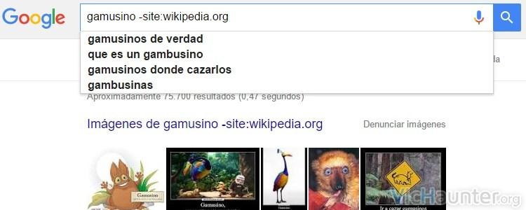 Qué operadores puedo usar al buscar en google