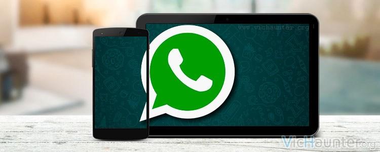 Cómo usar whatsapp en el móvil y la tablet a la vez