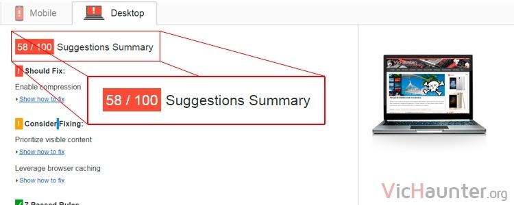 Herramienta para optimizar las imágenes para Google PageSpeed Insights