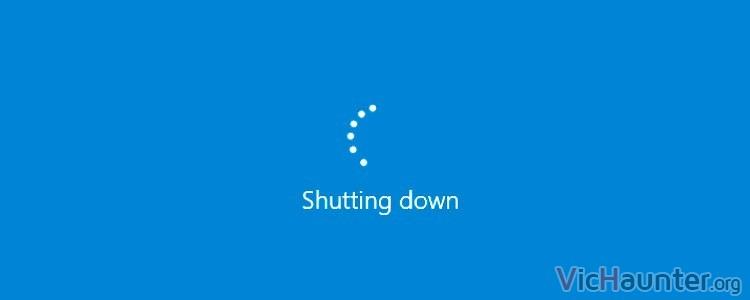 Cómo apagar, suspender, hibernar y reiniciar windows 10 con el teclado