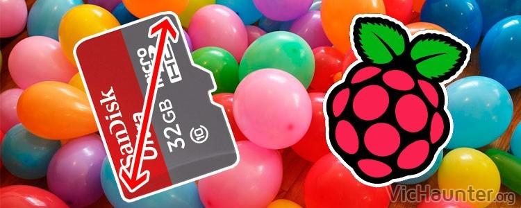 Cómo usar toda la tarjeta de memoria en Raspberry Pi 1, 2 y 3