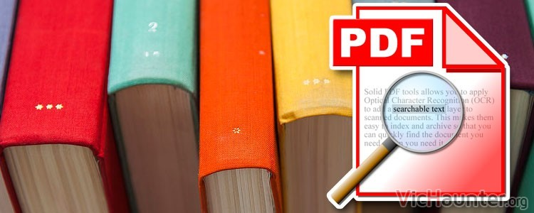 Cómo buscar texto dentro de carpetas con pdfs en Windows