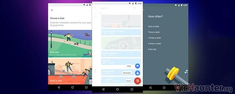 Google Calendar te ayuda a entrenar