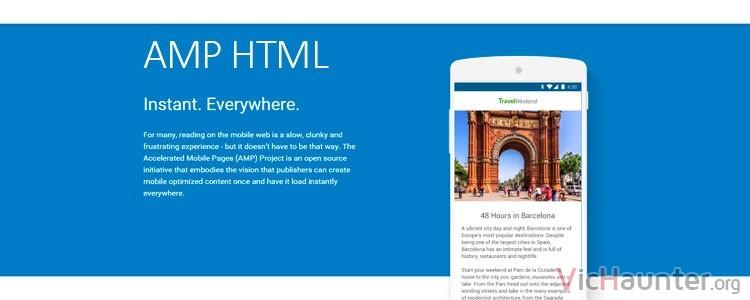 Qué es AMP HTML y para qué sirve