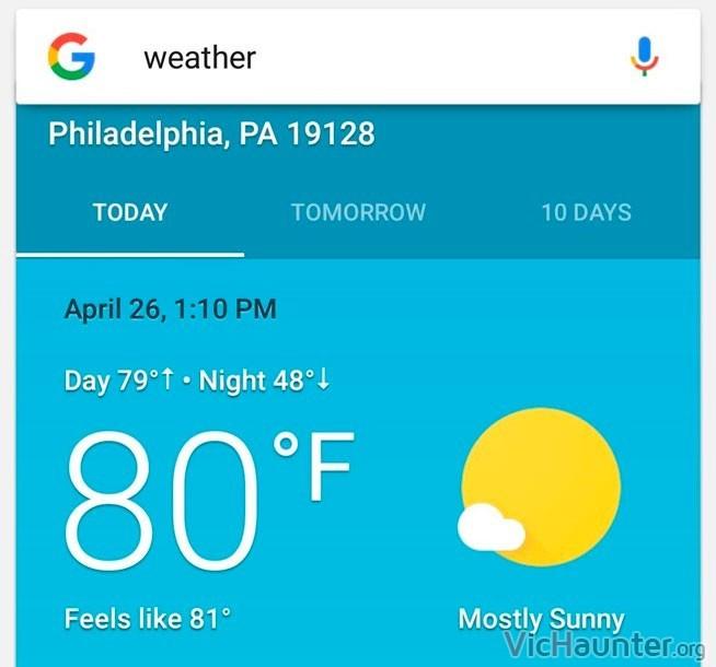 C mo instalar google weather app en android - Ver el tiempo en utrera ...