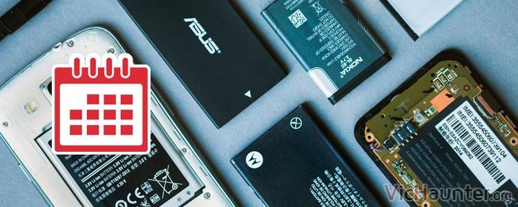 Cuanto dura una batería de móvil