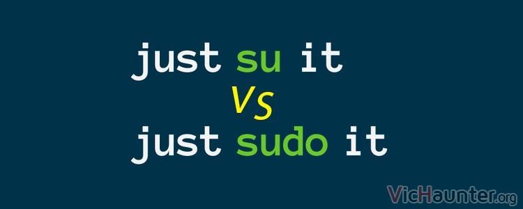 Qué diferencia hay entre su y sudo