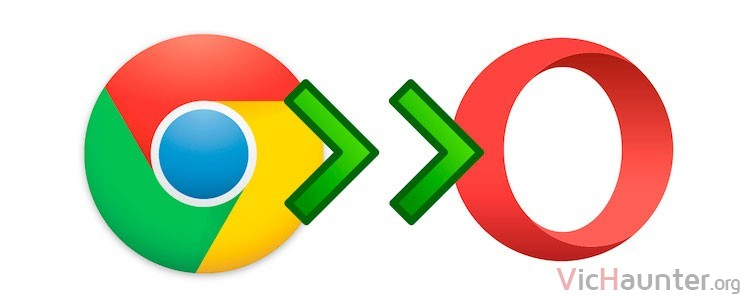 instalar extension chrome en opera