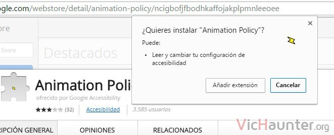 instalar extension google chrome