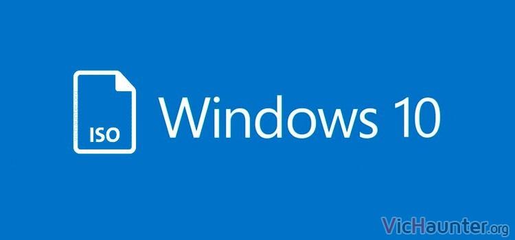 Como descargar iso oficial windows 10