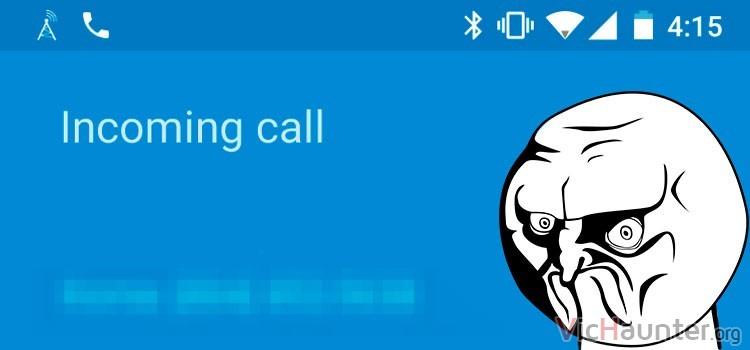 Cómo bloquear llamadas y mensajes en android 7 nougat