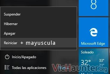 shift-reiniciar-modo-seguro-windows-10