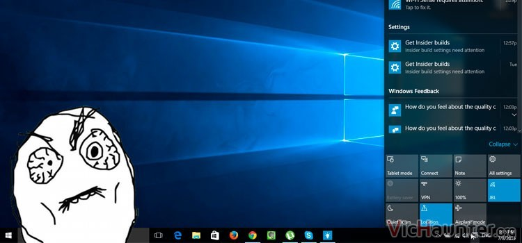 Cómo quitar el icono de actividades en windows 10