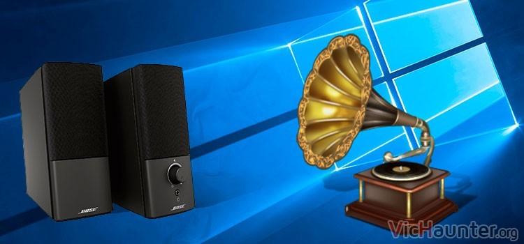 Como grabar el sonido de los altavoces en Windows 10 sin programas
