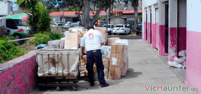 Explicación de los estados de correos México Sepomex