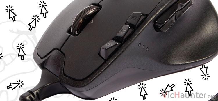 Cómo arreglar micropulsadores ratón logitech G700