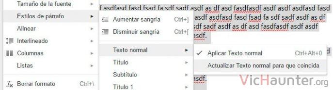 estilo-parrafo-texto-normal-actualizar-predeterminado-google-docs