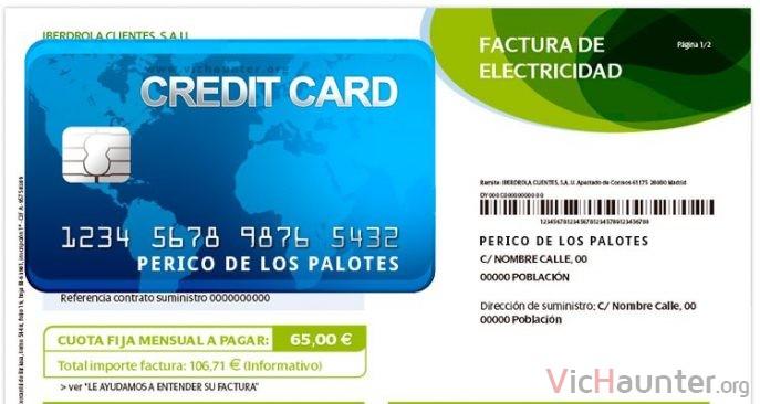 tarjeta-credito-factura-luz-mismo-nombre