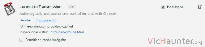 torrent-transmission-chrome-plugin