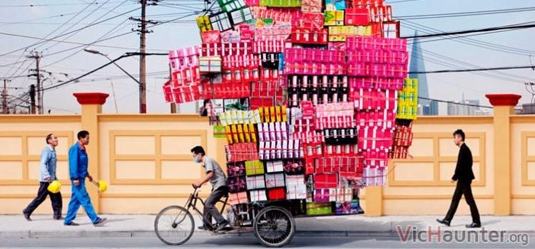 Transportista lento al comprar en China