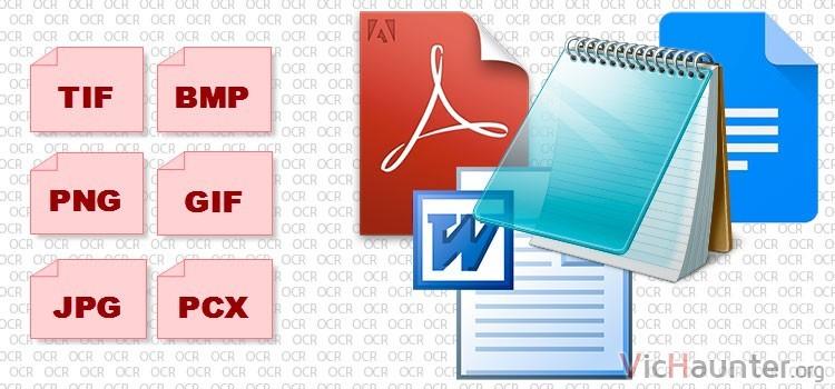Mejores programas para convertir imágenes a texto