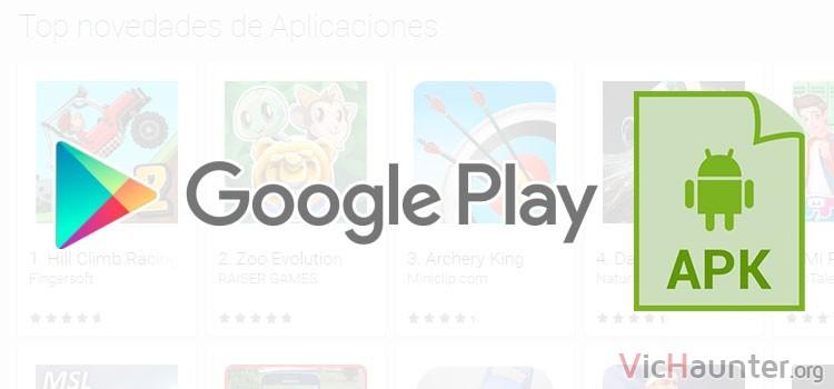 Cómo descargar apk de google play sin root