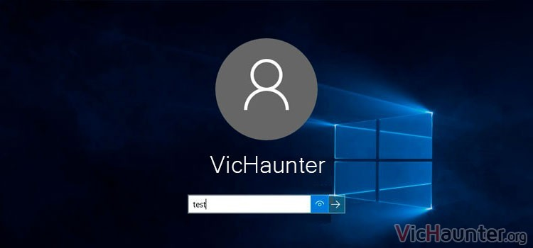 Cómo deshabilitar el botón de mostrar contraseña en Windows 10