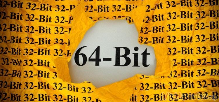 Qué es mejor 32 o 64 bits