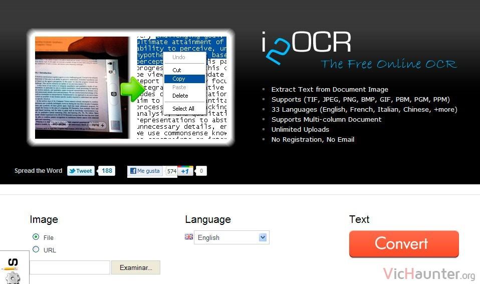 i2ocr-online