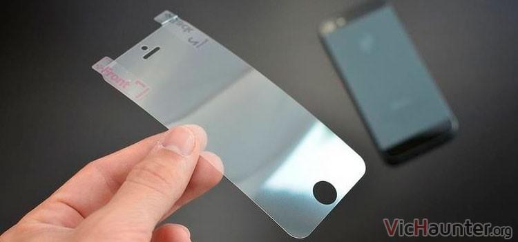 Es necesario protector de pantalla en smartphone