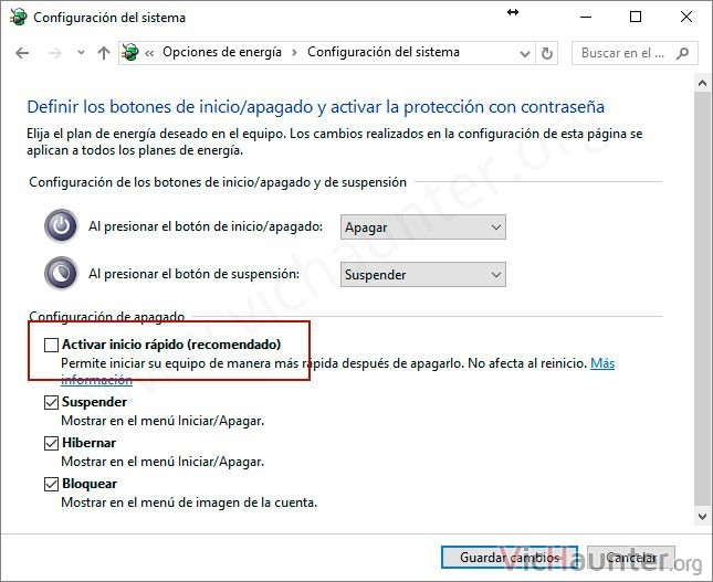 activar-inicio-rapido-windows-10