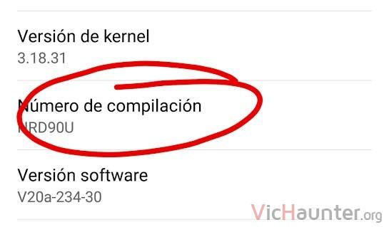 android-numero-compilacion