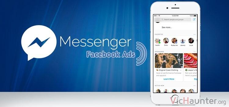 Llegan anuncios a facebook messenger