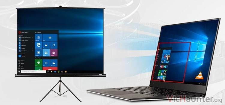 Cómo mostrar parte de la pantalla en otro monitor