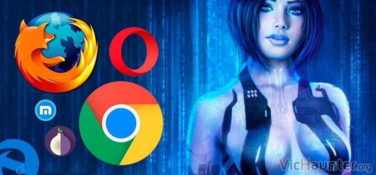 Cómo configurar navegador Cortana
