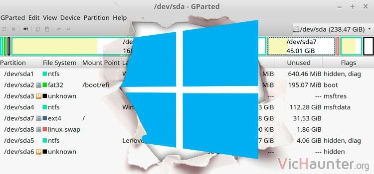 Cómo abrir particiones ext en windows 10