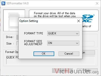 sdformatter-usar-todo-espacio